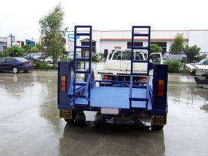 earth moving trailers