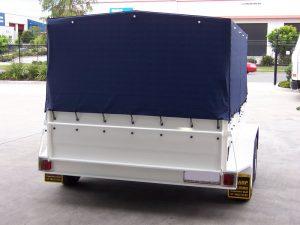 tarp covered trailers