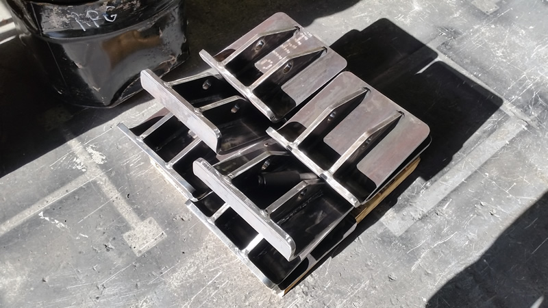 Custom Steel Fabricated parts